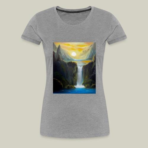 Waterfall - Frauen Premium T-Shirt