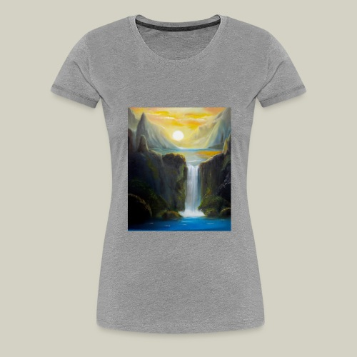 Waterfall - Frauen Premium T-Shirt