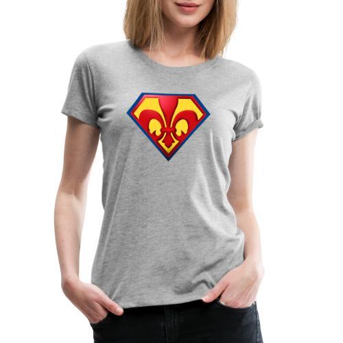 Fabulous Scout - Lilie im Wappen - Frauen Premium T-Shirt