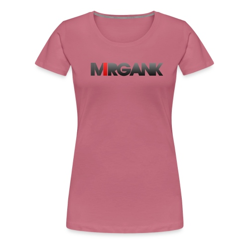 Mrgank Text - Women's Premium T-Shirt