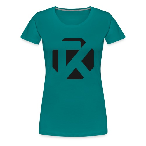 Logo TK Noir - T-shirt Premium Femme