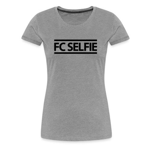 FCSELFIE Logo-Print - Frauen Premium T-Shirt