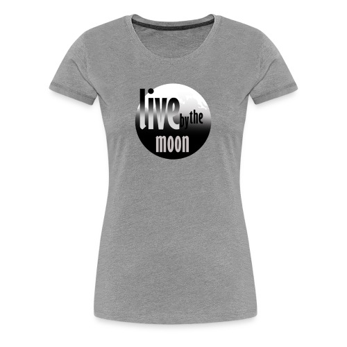 the moon - T-shirt Premium Femme