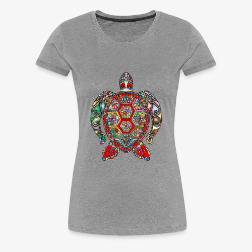 Tortue de mer Hindi - T-shirt Premium Femme