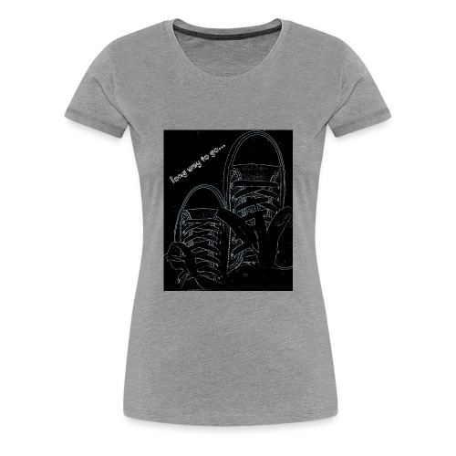 Long way to go - Women's Premium T-Shirt