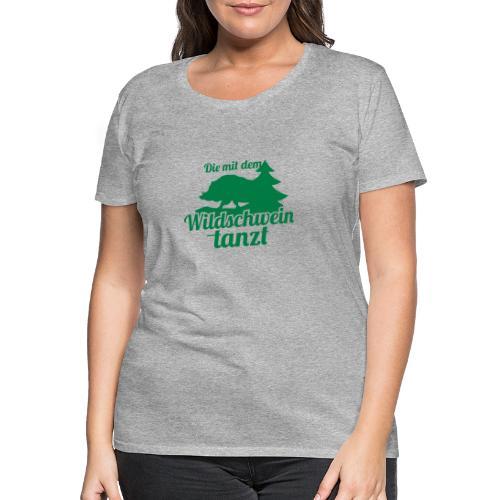 Wildschwein Frauen - Frauen Premium T-Shirt