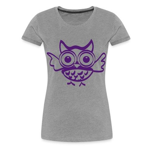 Chouette Hugo - T-shirt Premium Femme