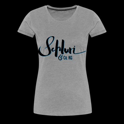 Schluri - Frauen Premium T-Shirt