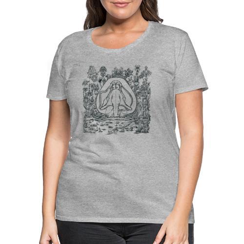 Vimmelfant - Premium-T-shirt dam