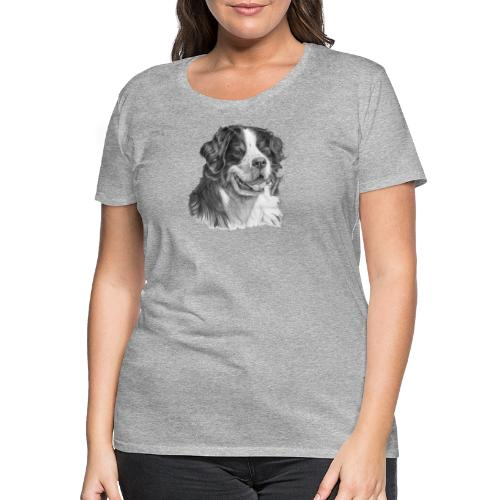 Bernese mountain dog - Dame premium T-shirt