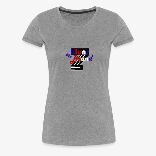 kluns the brand retro - Dame premium T-shirt