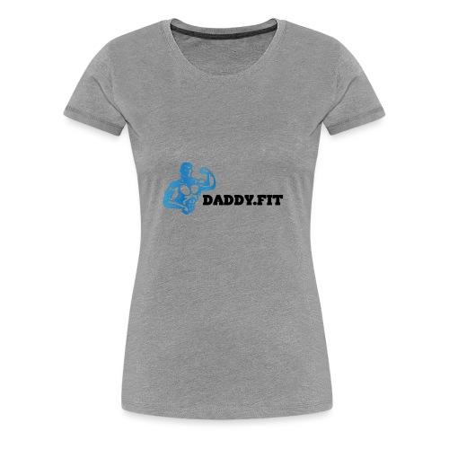 Daddy Fit Logo - Women's Premium T-Shirt