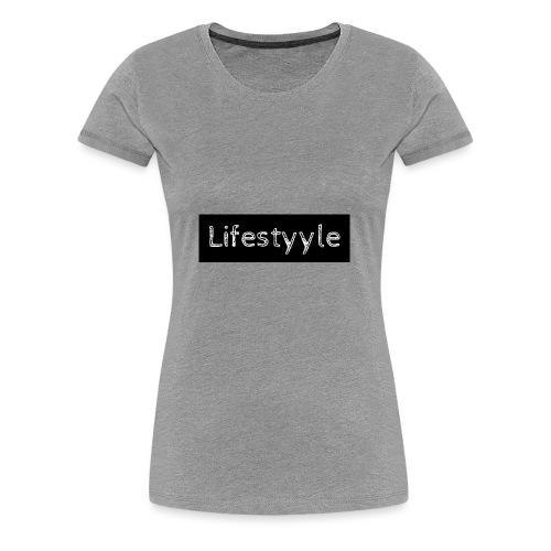 Lifestyyle schwarz - Frauen Premium T-Shirt