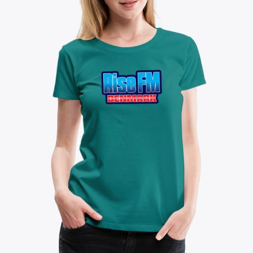 Rise FM Denmark Text Only Logo - Women's Premium T-Shirt
