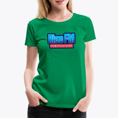 Rise FM Denmark Text Only Logo - Women's Premium T-Shirt