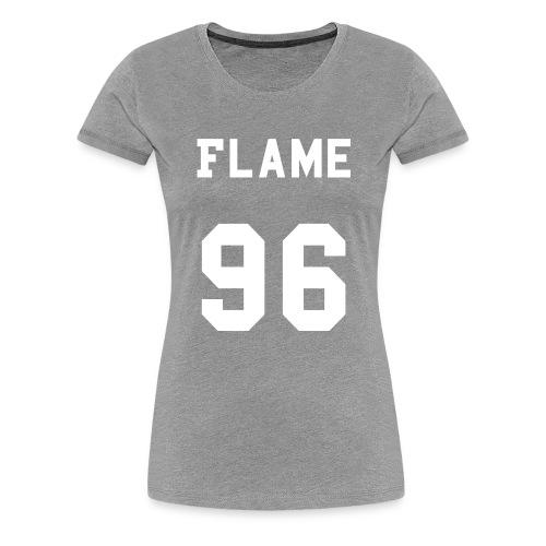 maglietta_flame_96 - Maglietta Premium da donna