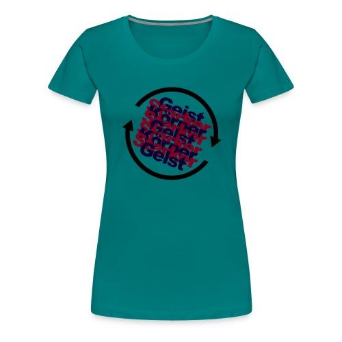 körpergeist. - Frauen Premium T-Shirt