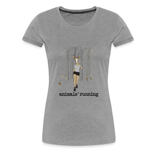 Antilope running - T-shirt Premium Femme