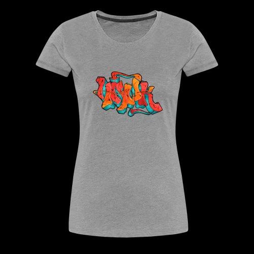 Hawk Print - Frauen Premium T-Shirt