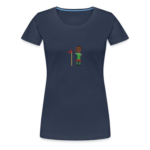 Flag corner dance - Women's Premium T-Shirt