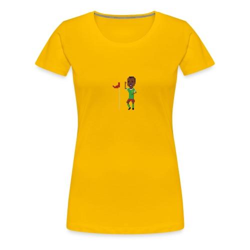 Flag corner dance - Women's Premium T-Shirt