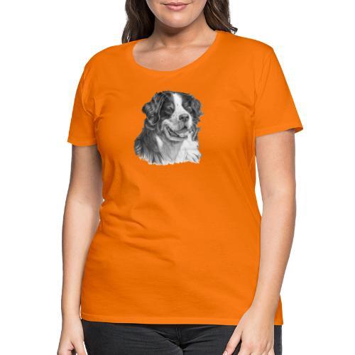 Bernese mountain dog - Dame premium T-shirt