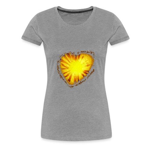 Cuore d'oro - Maglietta Premium da donna