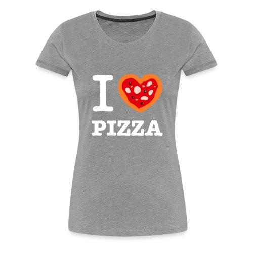 IlovePizza2 png - T-shirt Premium Femme