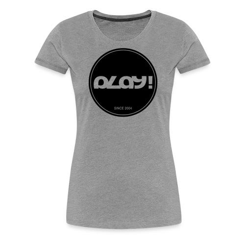1346324 15920136 play logo since 2004 or - Frauen Premium T-Shirt