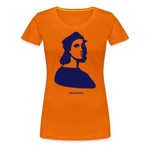 Raffaello, autoritratto - Maglietta Premium da donna