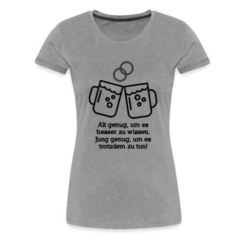 Junggesellenabschied Hoorray - Frauen Premium T-Shirt
