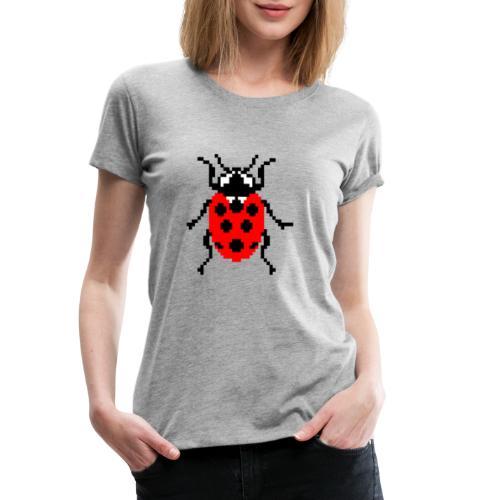 La Coccinelle en pixel art ! - Women's Premium T-Shirt