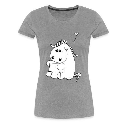 Pummeliges Einhorn - Frauen Premium T-Shirt