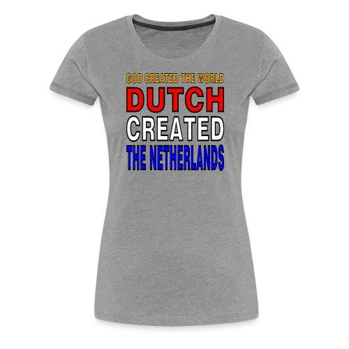 DUTCH PRIDE creators - Vrouwen Premium T-shirt