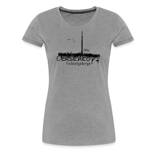 Ochsenkopf mit Asenturm Fichtelgebirge - Frauen Premium T-Shirt