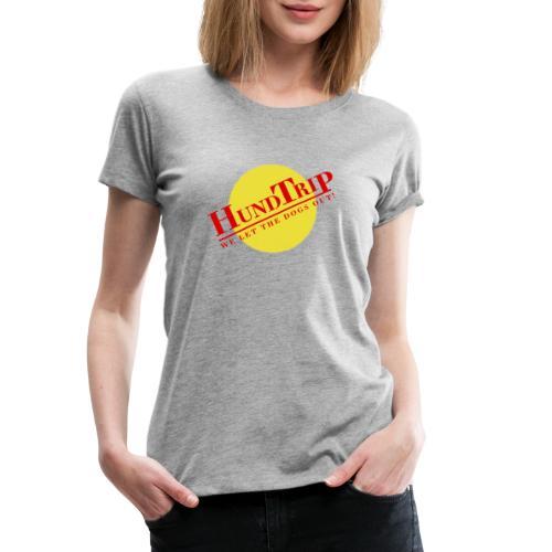 HundTrip - Premium-T-shirt dam