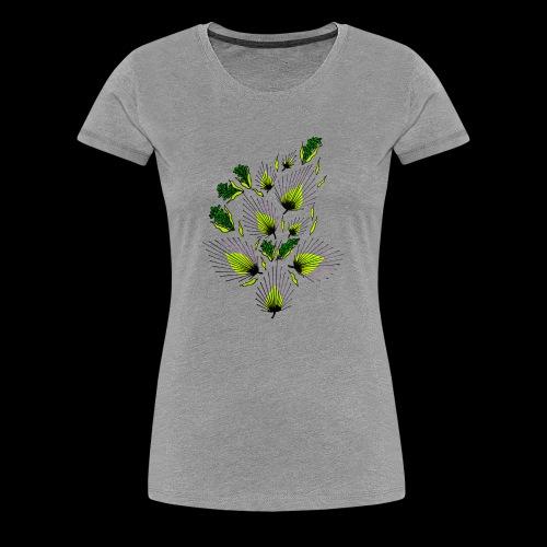 abstract art - Frauen Premium T-Shirt
