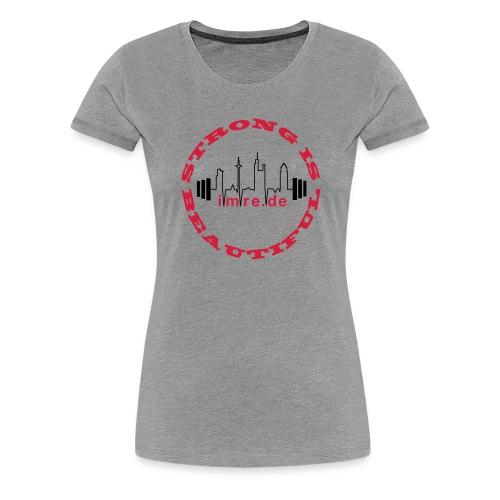 strongist_inkurven_imre - Frauen Premium T-Shirt