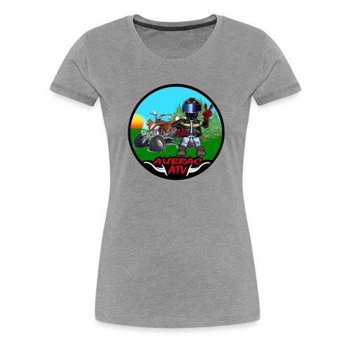 Logo aubrac ATV - T-shirt Premium Femme