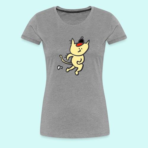 Cat's cap! - Women's Premium T-Shirt