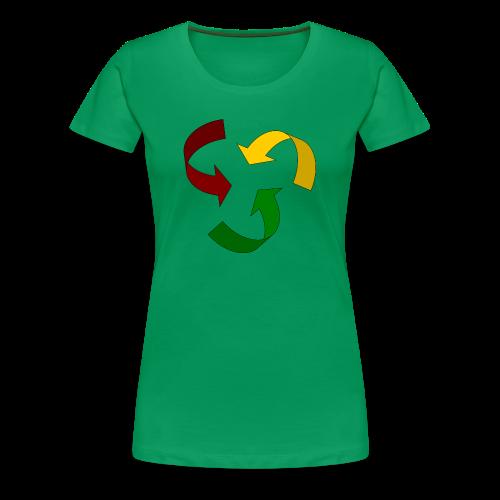 Rastacycle - T-shirt Premium Femme