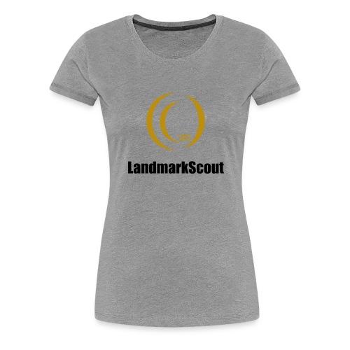 Tshirt Yellow Front logo 2013 png - Women's Premium T-Shirt