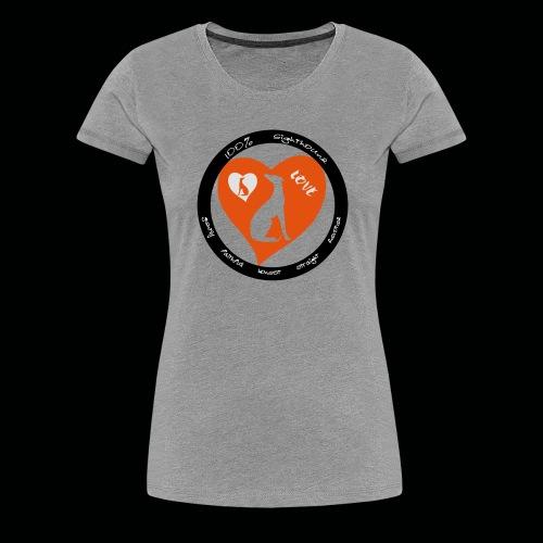 100 Sighthound - Frauen Premium T-Shirt