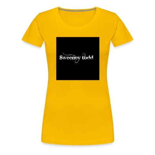 Sweney todd - Dame premium T-shirt