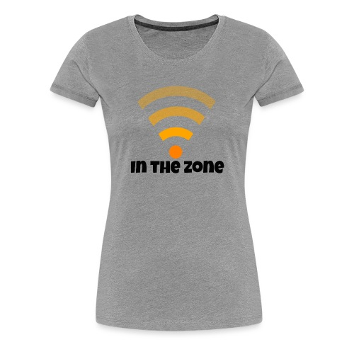 In the zone women - Vrouwen Premium T-shirt