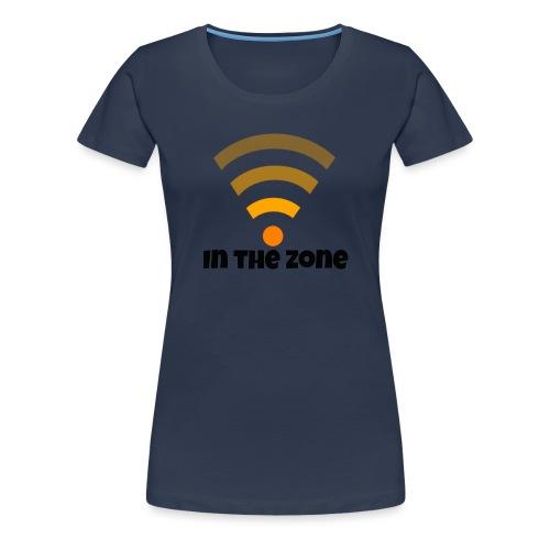 In the zone women - Vrouwen Premium T-shirt