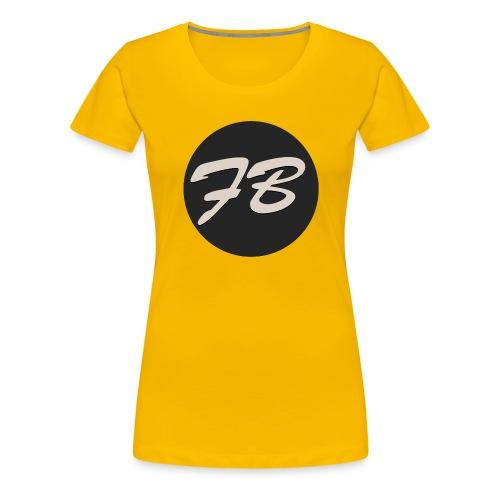 TSHIRT-INSTAGRAM-LOGO-KAAL - Vrouwen Premium T-shirt