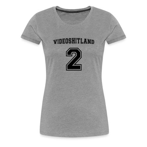 Baseball logo - Frauen Premium T-Shirt