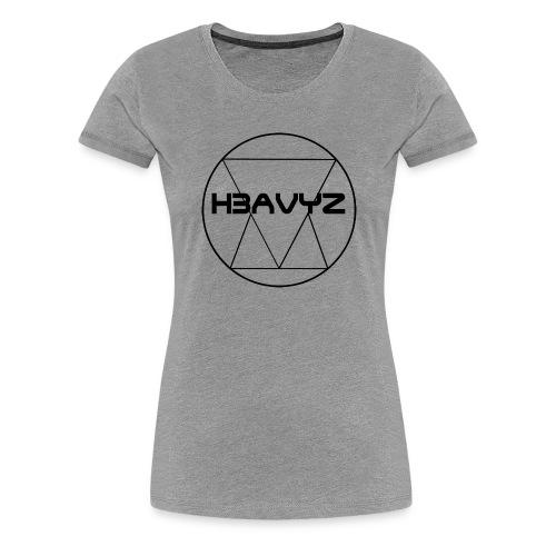 H3AVYZ- Collection Homme - T-shirt Premium Femme