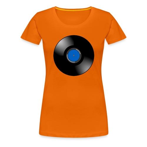 Vinyl - Vrouwen Premium T-shirt